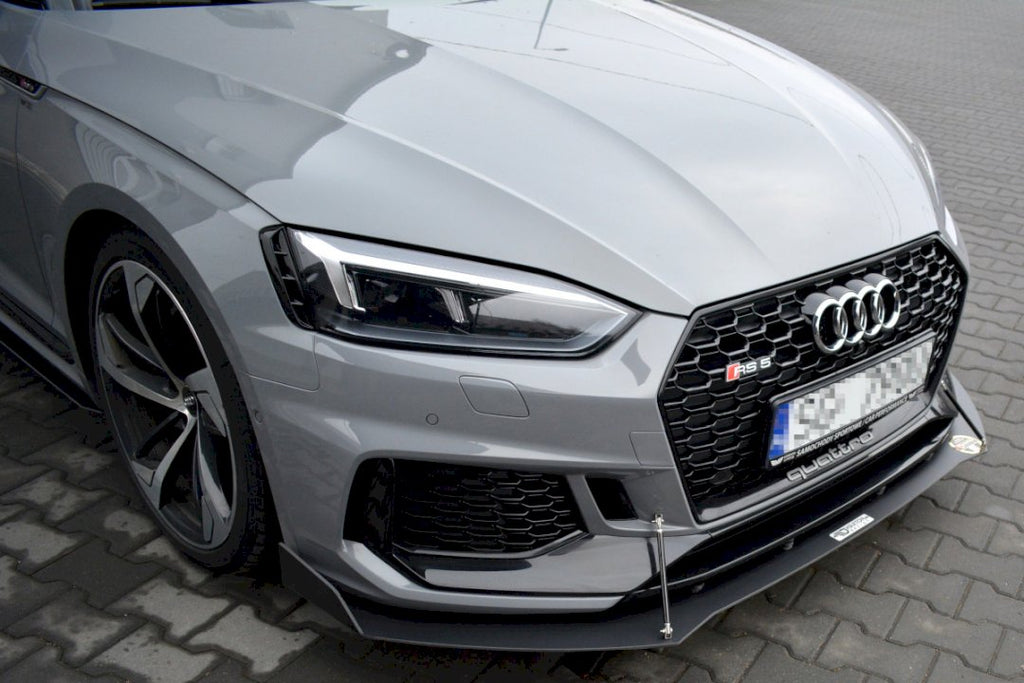 RACING FRONT SPLITTER V.2 AUDI RS5 F5 COUPE / SPORTBACK - Car Enhancements UK