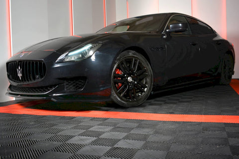 FRONT SPLITTER MASERATI QUATTROPORTE MK6 PRE-FACELIFT (2013-2016) - Car Enhancements UK