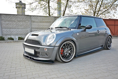 FRONT SPLITTER MINI COOPER R53 S JCW (2003-2006) - Car Enhancements UK