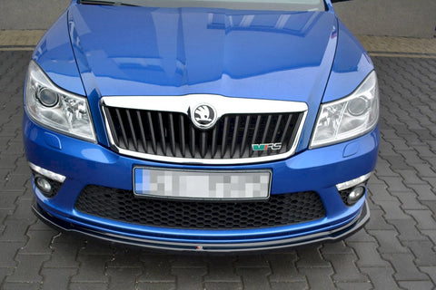 FRONT SPLITTER V.2 SKODA OCTAVIA MK2 VRS FACELIFT (2008-2013) - Car Enhancements UK