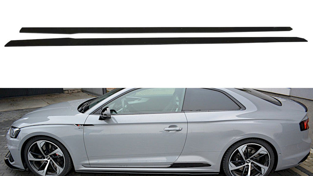 RACING SIDE SKIRTS DIFFUSERS AUDI RS5 F5 COUPE - Car Enhancements UK