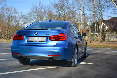 REAR SIDE SPLITTERS BMW 3-SERIES F30 FACELIFT SEDAN M-SPORT (2015-2018) - Car Enhancements UK