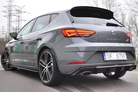 REAR DIFFUSER SEAT LEON MK3 CUPRA FACELIFT (2017-UP) - Car Enhancements UK
