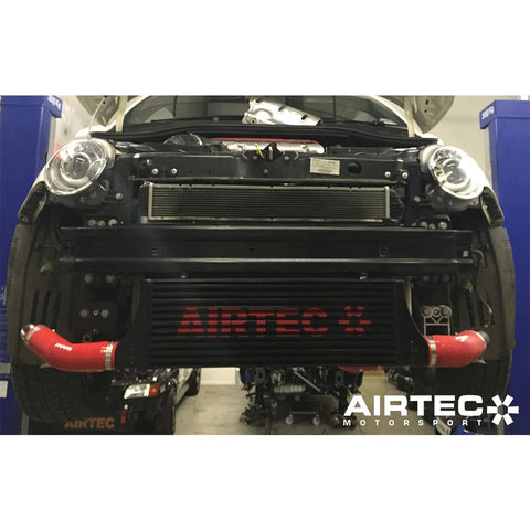 AIRTEC INTERCOOLER UPGRADE FOR FIAT 595 ABARTH 60MM CORE - Car Enhancements UK