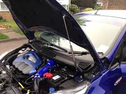 Fiesta MK7 Bonnet Strut Kit (NB Styling) - Car Enhancements UK