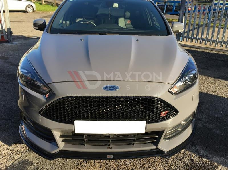 FRONT SPLITTER V.3 FOCUS ST MK3 FACELIFT MODEL - Car Enhancements UK
