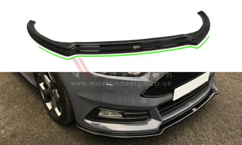 FRONT SPLITTER V.3 FOCUS ST MK3 FACELIFT MODEL