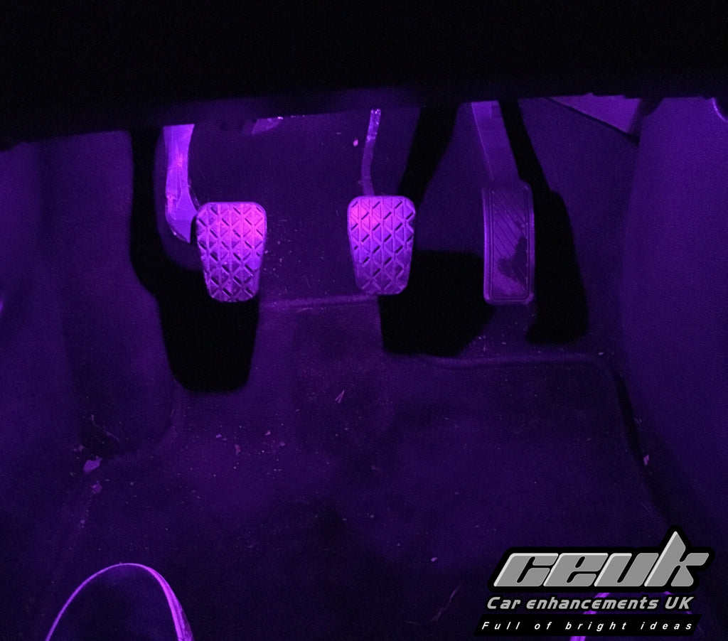 BriteVue 501 Footwell Bulbs - Purple - Car Enhancements UK