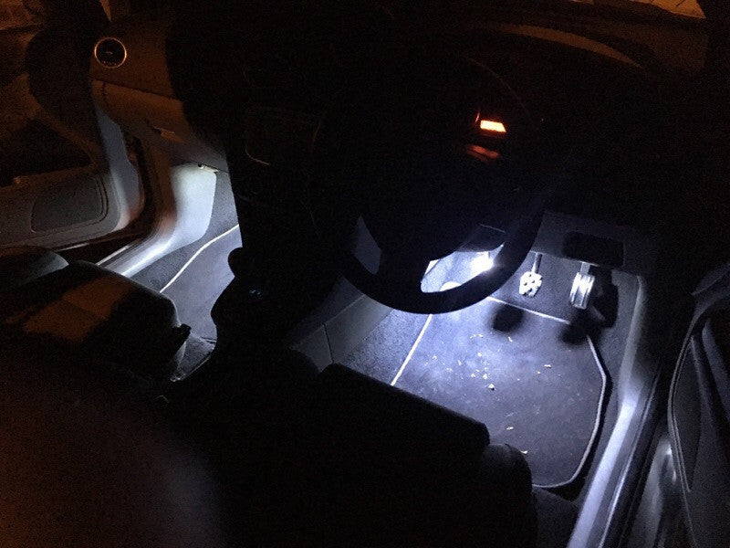 BriteVue Focus MK3 RS/ST footwell upgrade - Car Enhancements UK