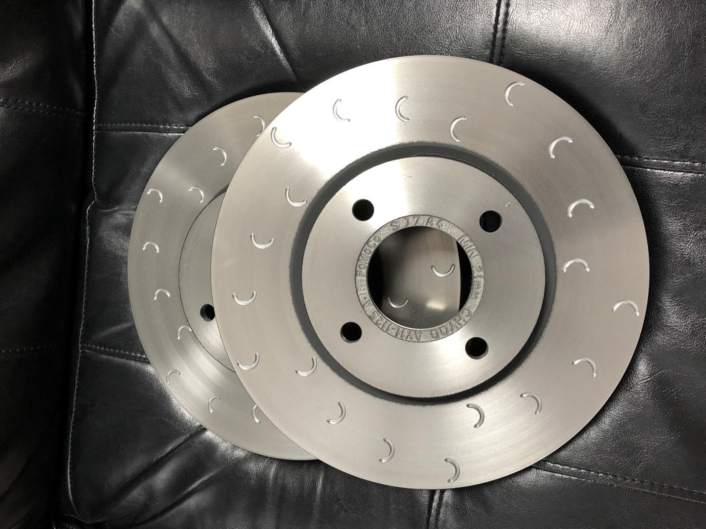 MK8 Fiesta ST - SCC Performance Genuine Ford Front Brake Discs - Car Enhancements UK