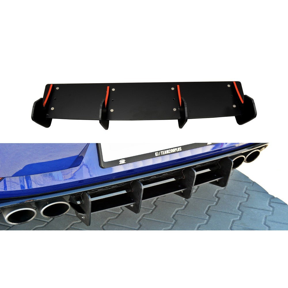 REAR DIFFUSER VW GOLF MK7 R (FACELIFT) - Car Enhancements UK