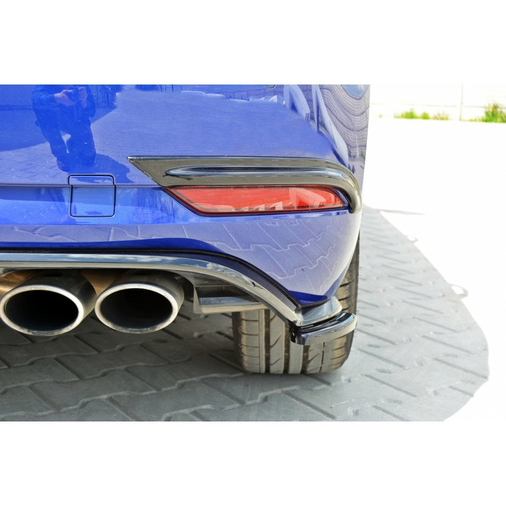 REAR SIDE SPLITTERS VW GOLF MK7 R (FACELIFT) - Car Enhancements UK