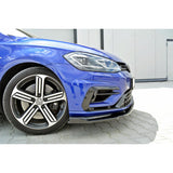 FRONT SPLITTER V.1 VW GOLF MK7 R (FACELIFT) - Car Enhancements UK