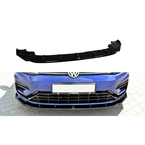 FRONT SPLITTER V.1 VW GOLF MK7 R (FACELIFT)