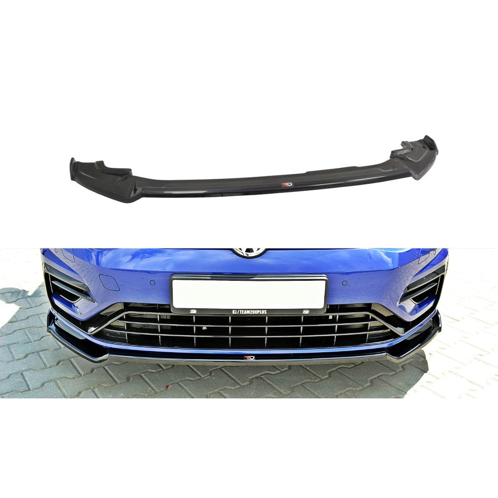 FRONT SPLITTER V.2 VW GOLF MK7 R (FACELIFT) - Car Enhancements UK