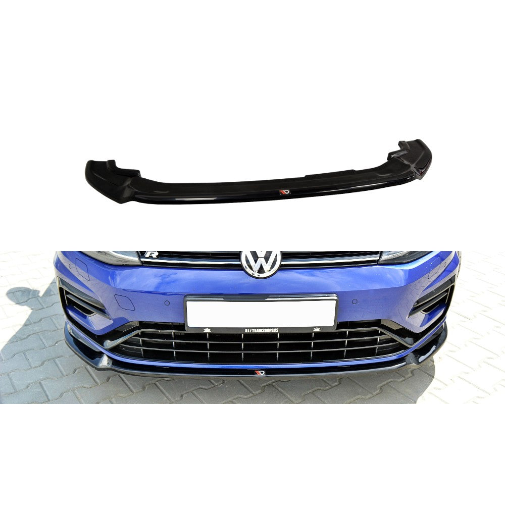 FRONT SPLITTER V.3 VW GOLF MK7 R (FACELIFT) - Car Enhancements UK