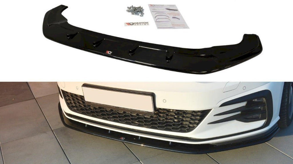 Front Splitter V.1 VW Golf GTI 7.5 (2017-2019) - Car Enhancements UK