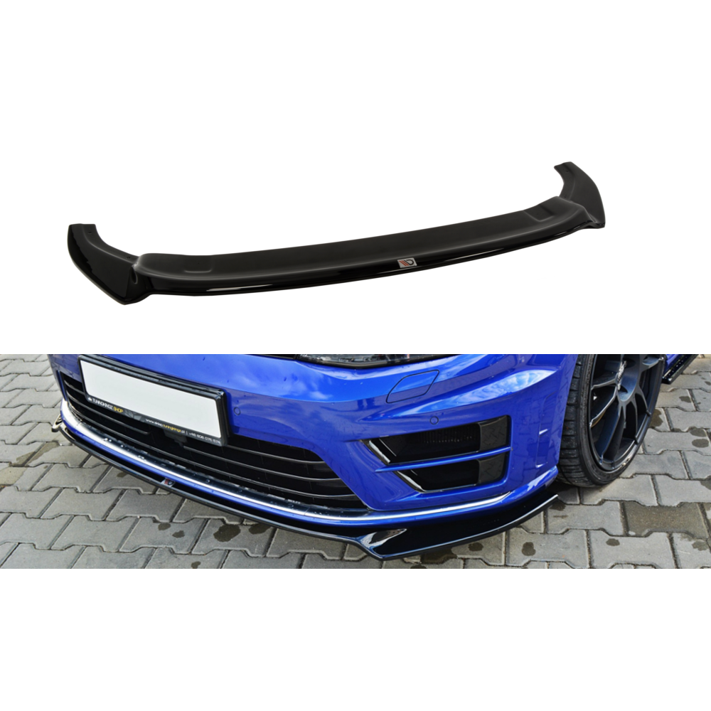 Maxton Design VW Golf MK7 (2013-2016) Front Splitter V2 - Car Enhancements UK