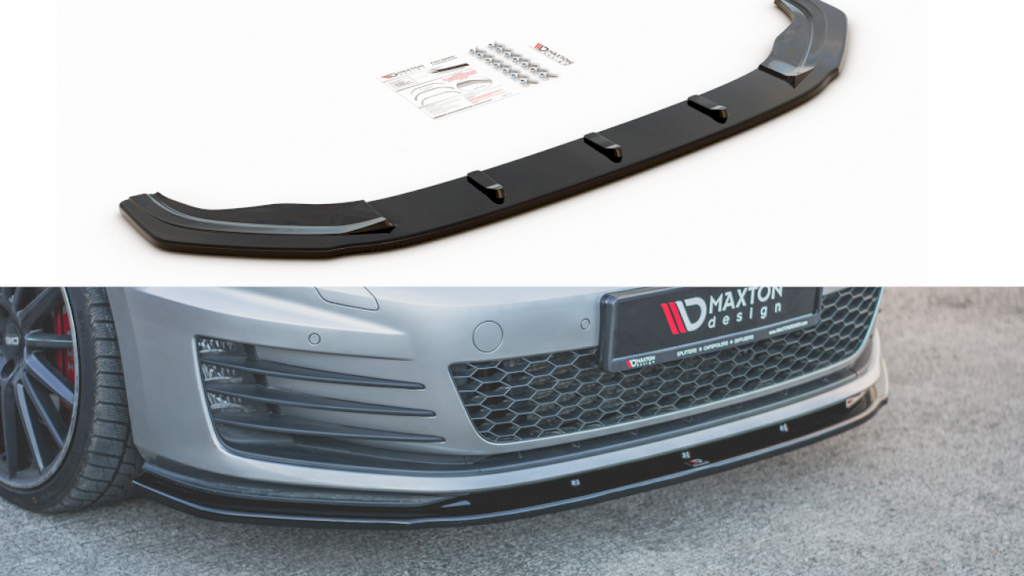Front Splitter V.3 VW GOLF 7 Pre Facelift GTI (2013-2016) - Car Enhancements UK