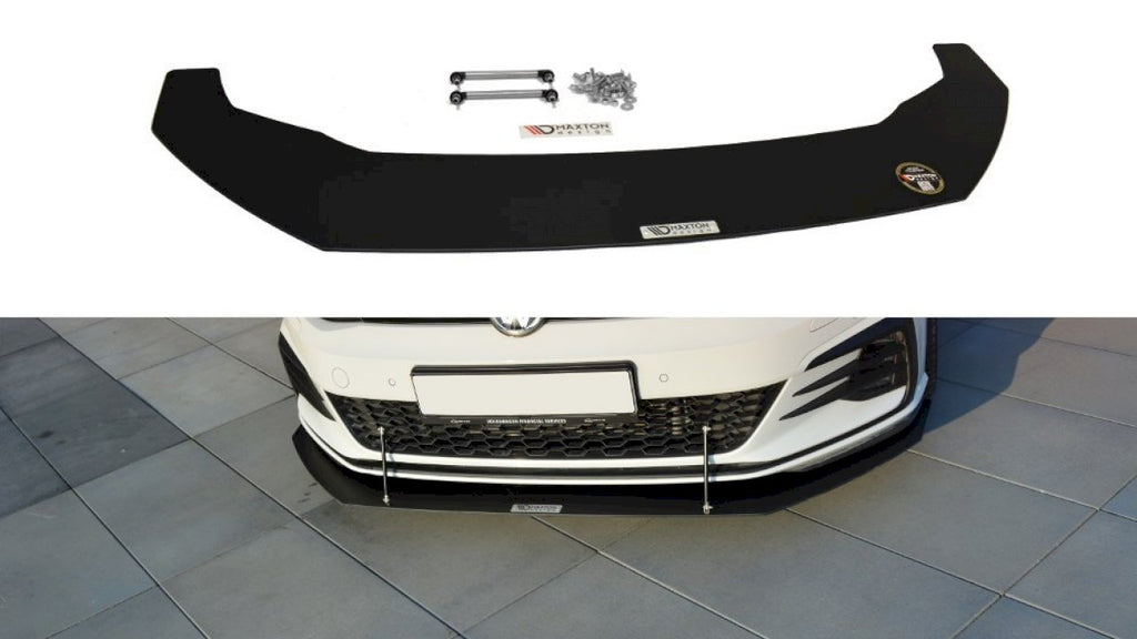 Front Racing Splitter V.1 VW GOLF GTI 7.5 (2017-19) - Car Enhancements UK