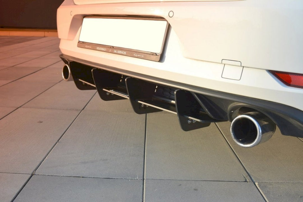 Rear Diffuser VW GOLF GTI 7.5 (2017-19) - Car Enhancements UK
