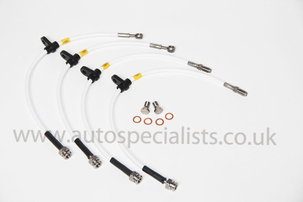 HEL Peformance Uprated Brake Lines - in 12 Different Colours to Match Your Car - Car Enhancements UK