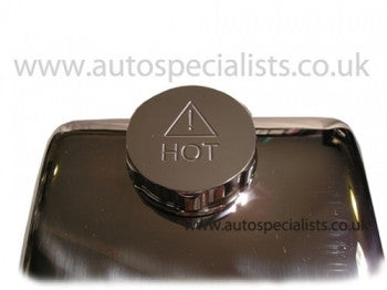 Fiesta Mk7 header tank cap cover with HOT logo - Ultimate finish - Car Enhancements UK
