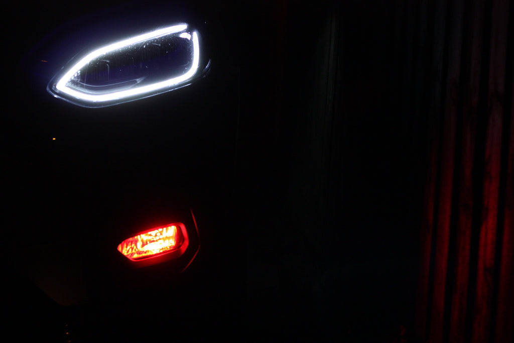 #Enhanced Edition RGB Fog Lights - Bluetooth Controlled - Car Enhancements UK
