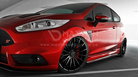 Maxton Design - Fiesta MK7 Facelift ST / Zetec S side skirt diffusers - Car Enhancements UK