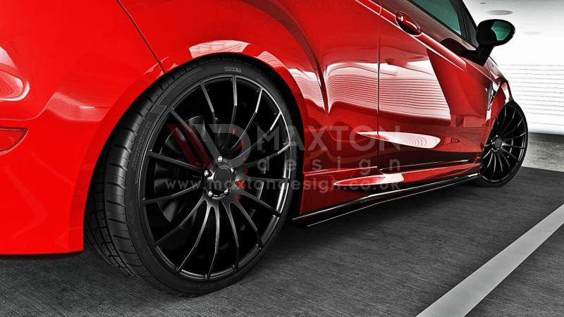Maxton Design - Fiesta MK7 Facelift ST / Zetec S side skirt diffusers
