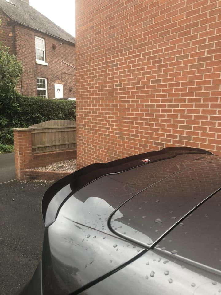 Maxton Design - Fiesta MK8 ST Line Spoiler Extension - Car Enhancements UK