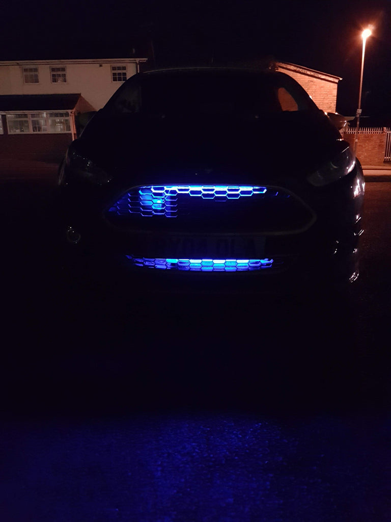 #Enhanced Edition Independent Chaser Grille Light Kit - Car Enhancements UK