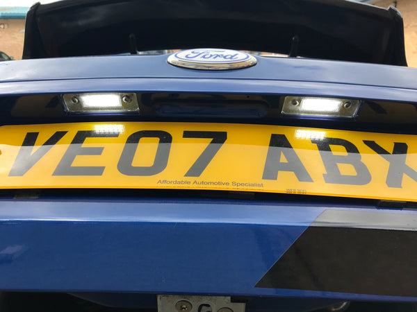 BriteVue LED Number Plate Unit - MK6 Fiesta - Car Enhancements UK