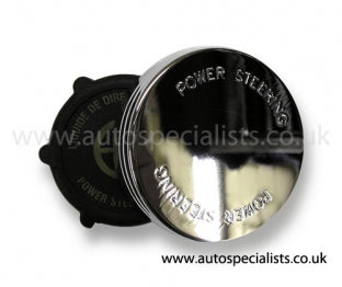 AutoSpecialists Power Steering Cap with Logo - Car Enhancements UK