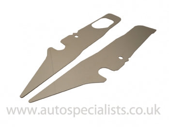 AutoSpecialists Wing Rail Covers for Mk2 Focus 2008 to 2011 - Car Enhancements UK