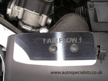 AutoSpecialists Airflow Deflector Trim with Logo for Mk2 Focus ST 2005-2008 - Car Enhancements UK