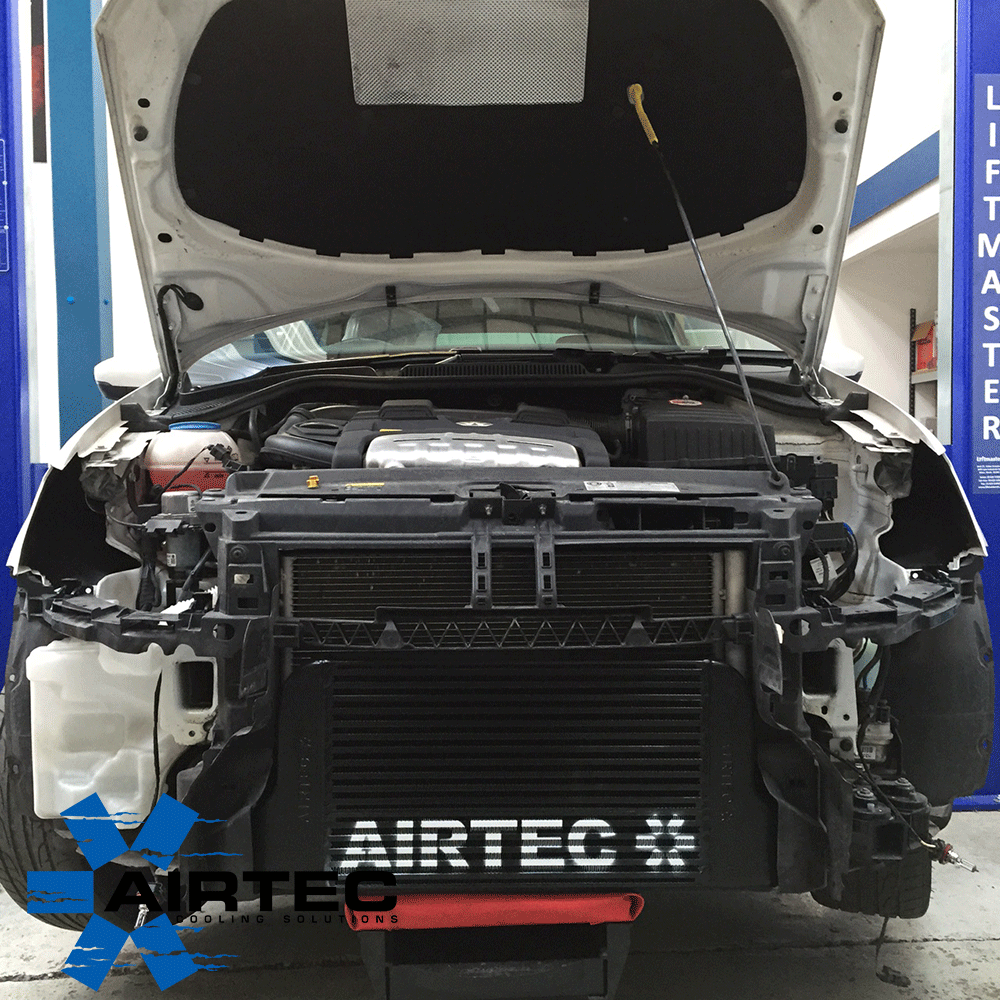 AIRTEC FRONT MOUNT INTERCOOLER UPGRADE FOR POLO 1.4 TSI GTI - Car Enhancements UK