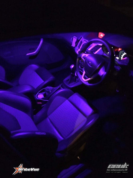 Fiesta mk7 Zetec S #Enhanced Interior light kit - Car Enhancements UK