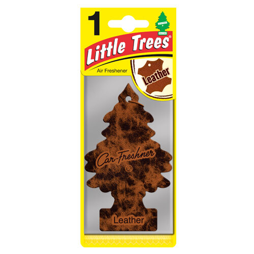 Little Trees Hanging Air Freshener Leather - Car Enhancements UK