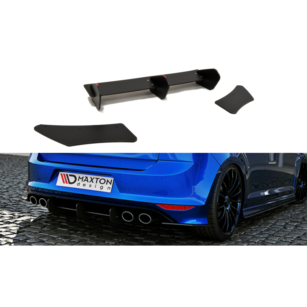 Maxton Design VW Golf R MK7 Hatchback (2013-2016) Rear Diffuser - Car Enhancements UK