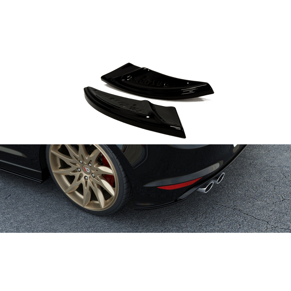 Maxton Design VW Golf MK7 R (2013-2016) Rear side Splitters - Car Enhancements UK