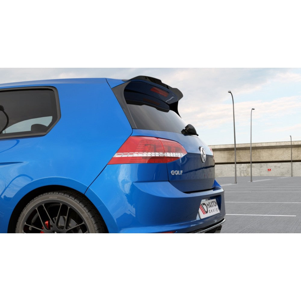 Maxton Design VW Golf R MK7 (2013-2016) Spoiler Extension - Car Enhancements UK