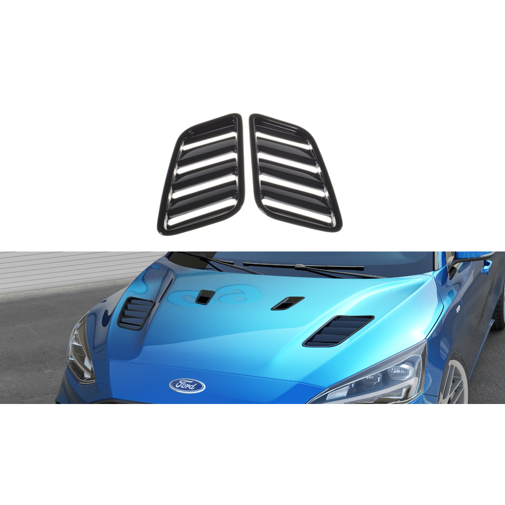 Maxton Design Ford Focus MK4 ST-Line (2018-UP) Bonnet Vents (bigger ones)