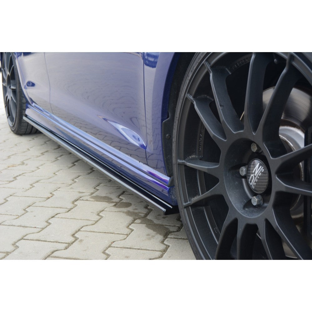 Maxton Design VW Golf R MK7 Hatchback & Estate (2013-2016) Side Skirts Diffusers - Car Enhancements UK