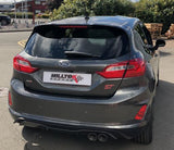 MK8 Fiesta ST Milltek Sport GPF Back Exhaust (Valved) - Car Enhancements UK