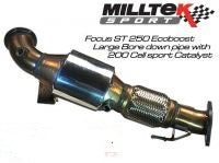 Focus ST 2012 Milltek SPort Sports Cat