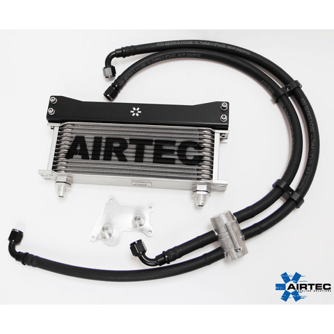 AIRTEC OIL COOLER KIT WITH OR WITHOUT THERMOSTAT FOR MINI COOPER S R53 - Car Enhancements UK