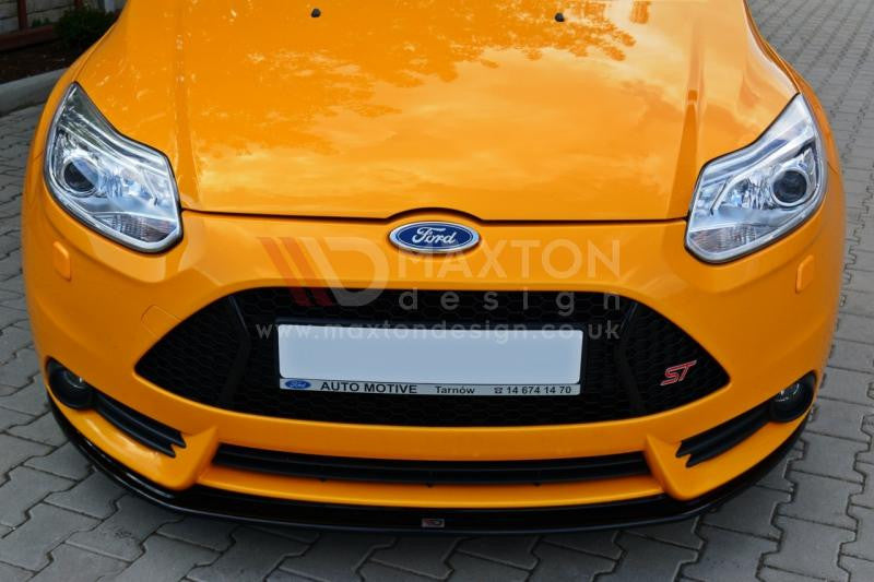 FRONT SPLITTER V.2 FORD FOCUS MK3 ST PREFACE MODEL