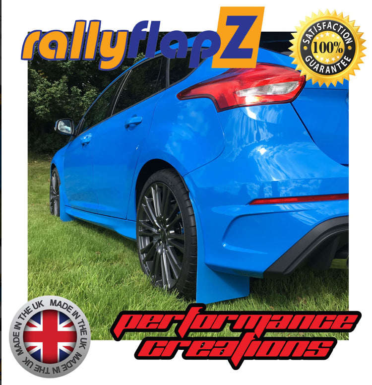 RallyflapZ to fit Ford Focus RS Mk3 (NEW 2016) Kaylan Polyurethane - Car Enhancements UK