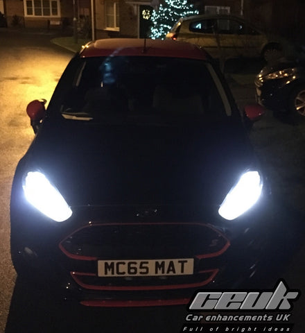 Mk7.5 Fiesta Full Upgrade Kit - LED Strip DRL